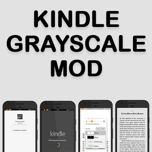 Amazon Kindle Grayscale Mod For Android