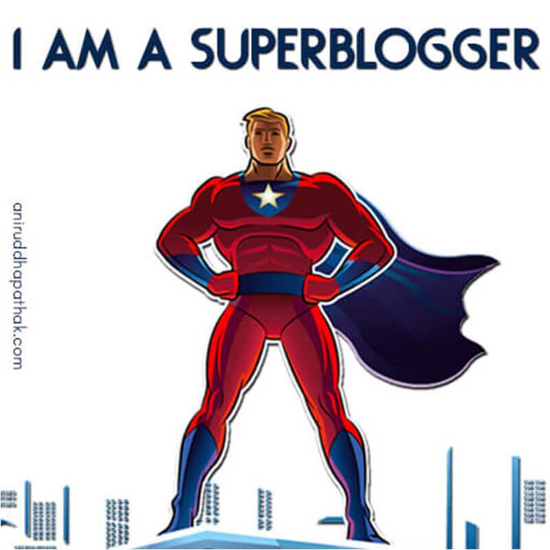 I am a SuperBlogger